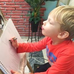art classes for Children 5-7 yrs