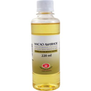 Linseed oil, 220 ml