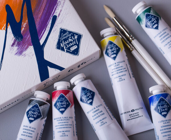 MasterClass oil paints