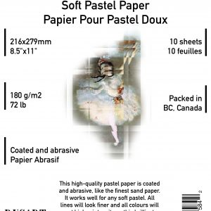Pastel Coated Paper